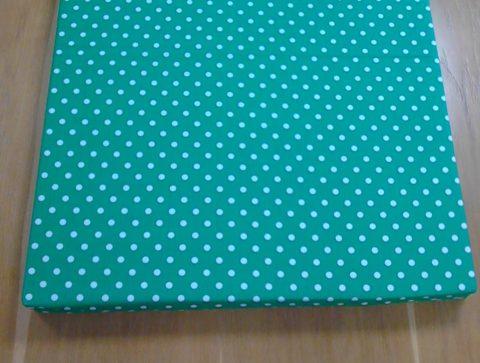 Dětská matrace zelená