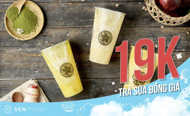 Đồng giá Trà sữa 19K tại TocoToco Hồ Tùng Mậu