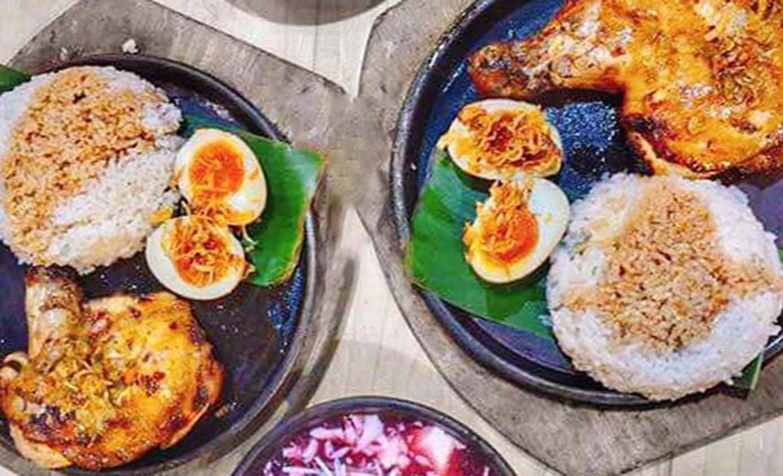 Giảm 30% cơm đùi gà nướng kèm trứng chảy siêu ngon
