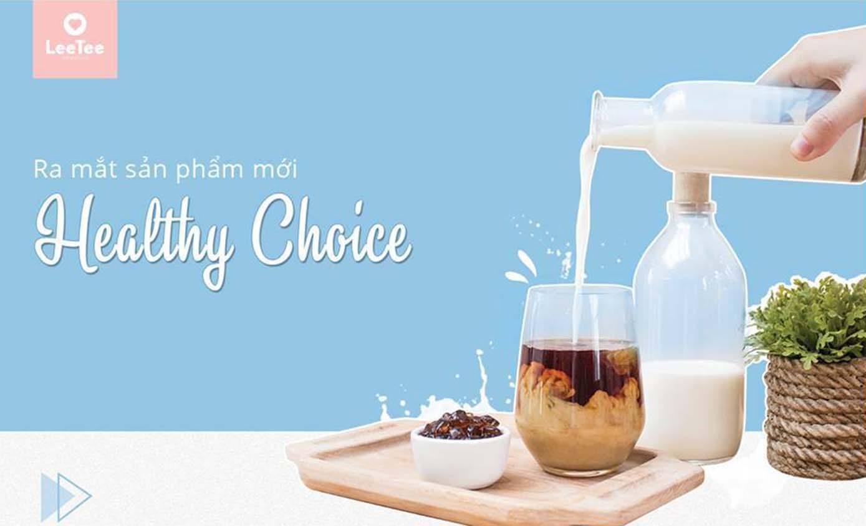 Mua 2 tặng 1 với dòng sản phẩm mới Healthy Choice nhà LeeTee