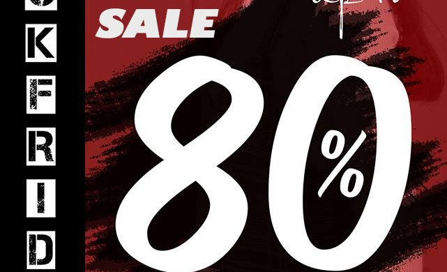 Black Friday - Giá huỷ diệt - Sasle up to 80%