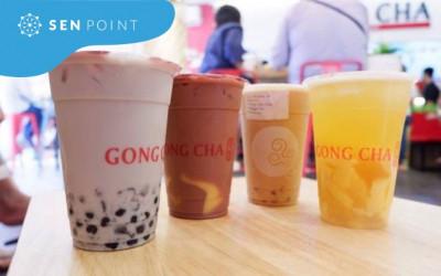 Thương hiệu trà sữa Gong Cha