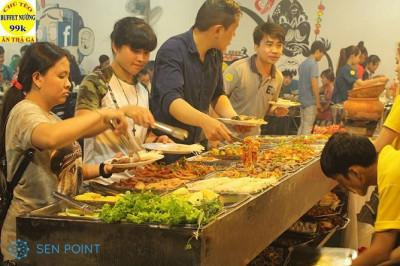 TOP 6 quán buffet nướng 99K Sài Gòn được yêu thích nhất hiện nay