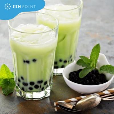 Nguyên liệu làm trà sữa bạc hà tại nhà