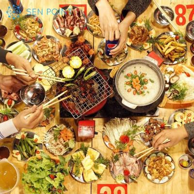 TOP 10 địa chỉ quán buffet nướng có giá rẻ chưa tới 100K tại Hà Nội