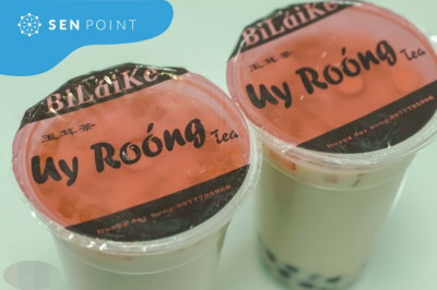 """Trà sữa Uy Roóng - quán trà sữa """"đời đầu"""" ở Hà Nội"""