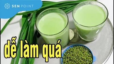 Cách làm sữa đậu xanh thơm ngon, bổ dưỡng đơn giản ngay tại nhà