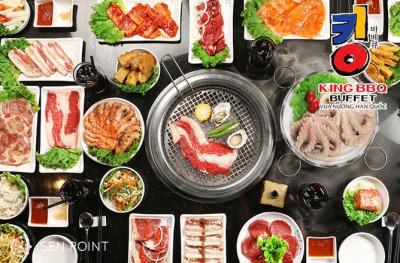Chuỗi nhà hàng King BBQ - Vua Buffet nướng Hàn Quốc
