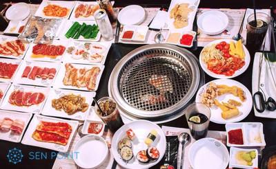 Nhà hàng buffet King BBQ tại quận Long Biên