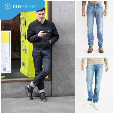 Mẹo hay giúp chọn quần jeans nam phù hợp với từng vóc dáng
