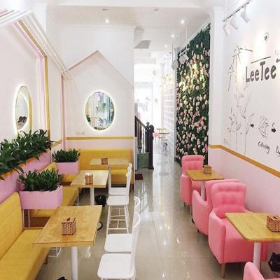 """Những quán trà sữa có decor """"bánh bèo"""" cực xinh cả ở Hà Nội và Sài Gòn"""