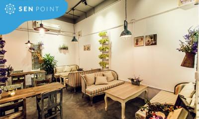 Chú trọng thiết kế không gian quán cà phê