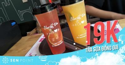 Shang Tea 87 Doãn Kế Thiện trà sữa đồng giá 19K