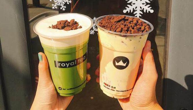 Điểm mặt các thương hiệu trà sữa có mặt trên đường Ô Chợ Dừa