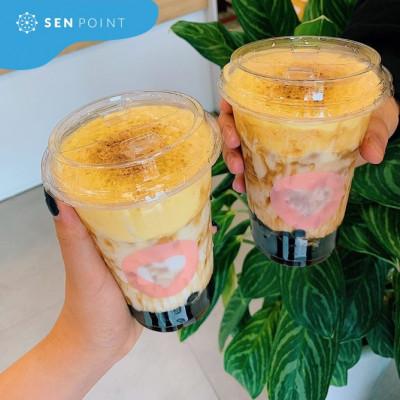 Kem trứng sản phẩm chào hè 2019 của trà sữa LeeTee