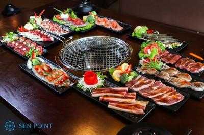 Nhà hàng buffet Gyu–Kaku tại quận Long Biên