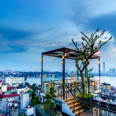 6 Degrees - quán cafe view đẹp ở Hà Nội