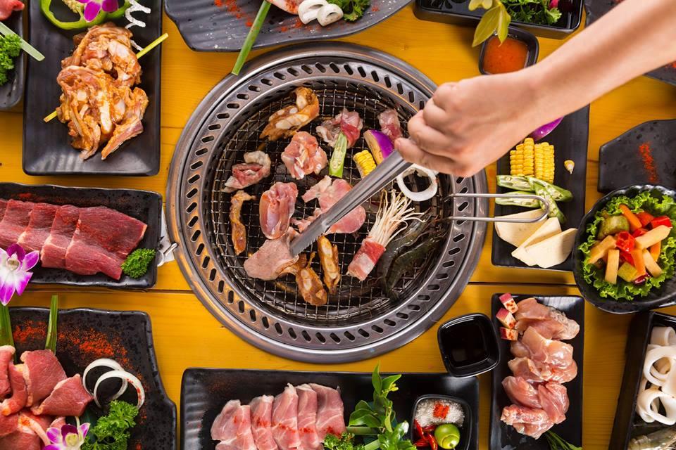 Nhà hàng Sky BBQ - Chuyên Buffet lẩu nướng 2