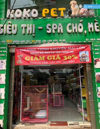 Koko Pet - 1052 Đường Láng, Láng Thượng, Đống Đa, Hà Nội.