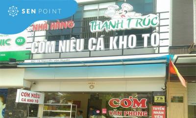 Cơm niêu cá kho tộ Thanh Trúc - 75 Nguyễn Văn Huyên, Quan Hoa, Cầu Giấy, Hà Nội.