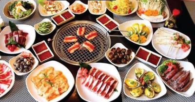 Bữa ăn đầy đặn tại Suchef BBQ
