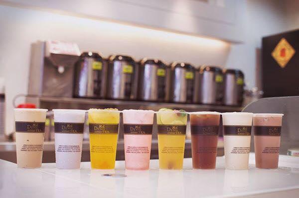 dingtea thương hiệu trà sữa hàng đầu Đài Loan
