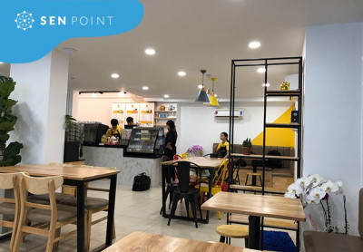 Không gian chanh sả của The Craft Coffee And More