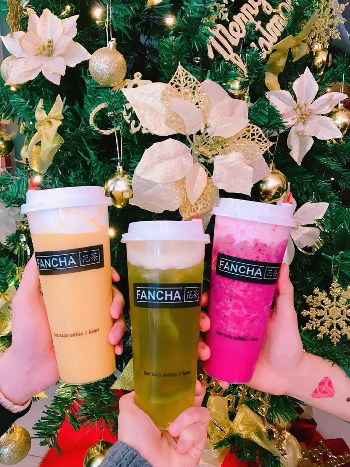 trà sữa Fancha 1
