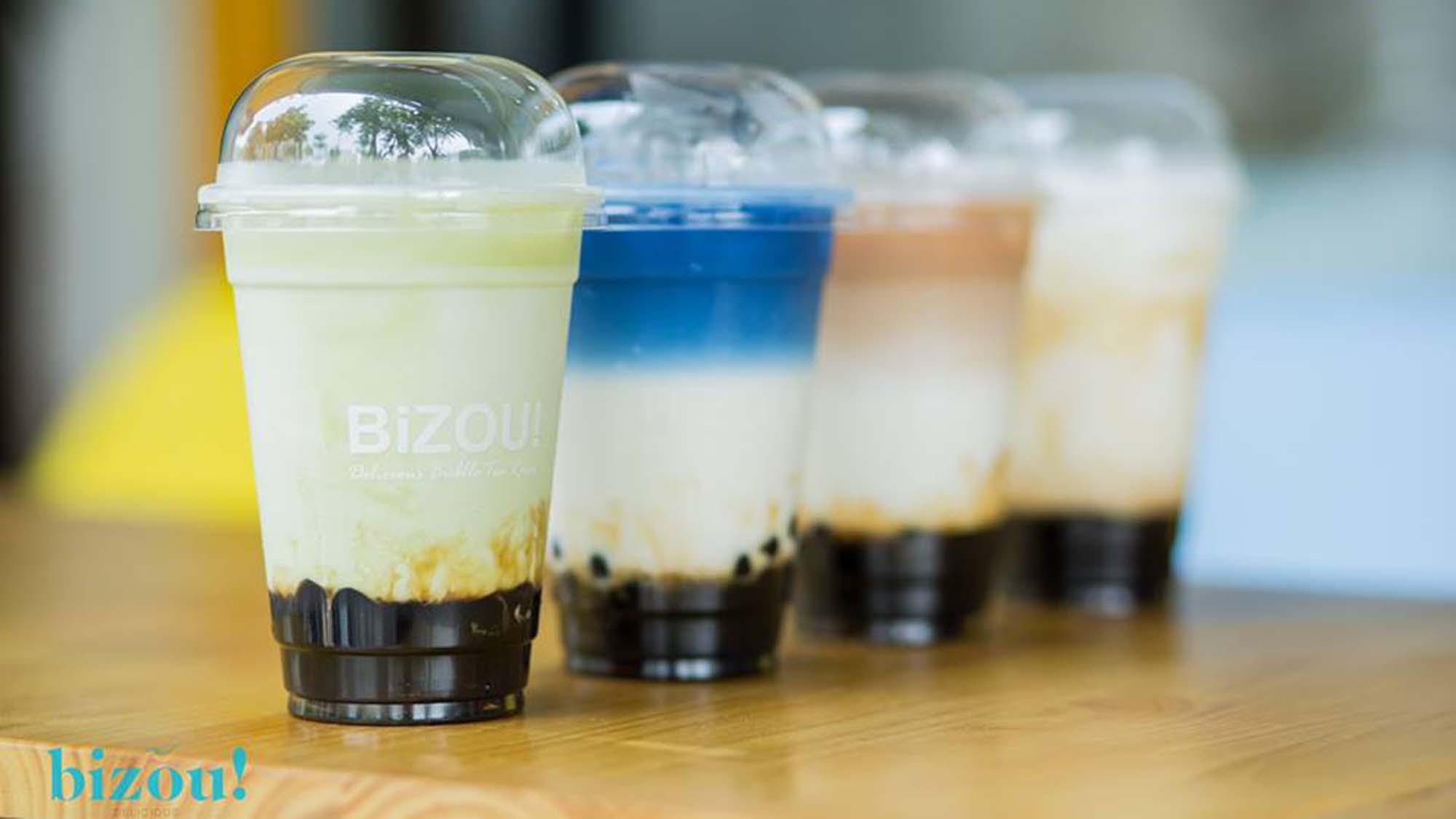 Bizou Delicious - Nâng tầm trà sữa Việt Nam 1