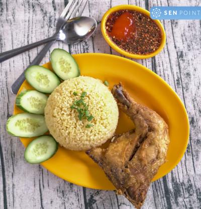 Cơm gà xối mỡ Thạch Lam chi nhánh Thạch Lam - cơm gà xối mỡ - 217 Thạch Lam, Phú Thạnh, Tân Phú, Hồ Chí Minh