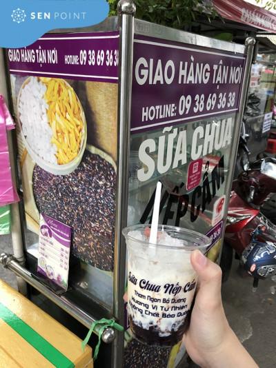 Sữa chua nếp cẩm Hà Nội - Món ăn vặt thơm ngon bổ rẻ