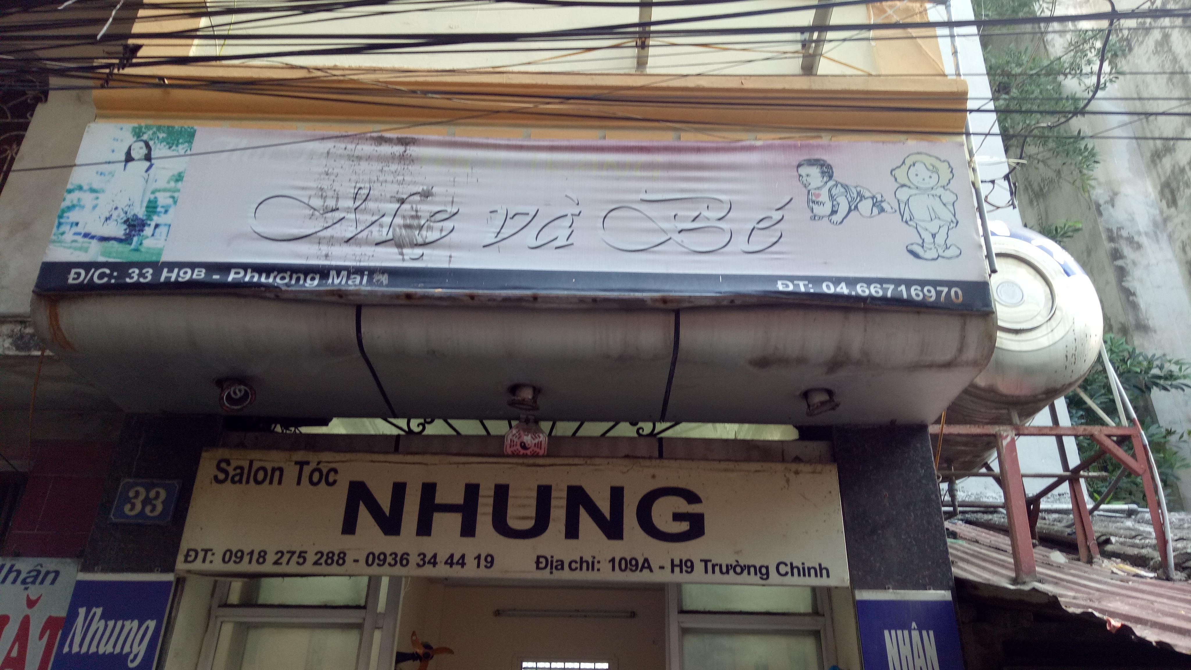 Salon Tóc Nhung