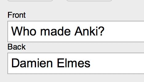 Who Made Anki Card