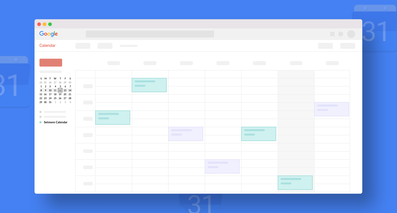 Google Calendar Integration with Setmore