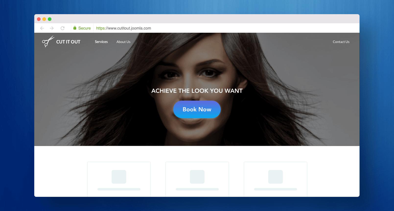Screen-Joomla