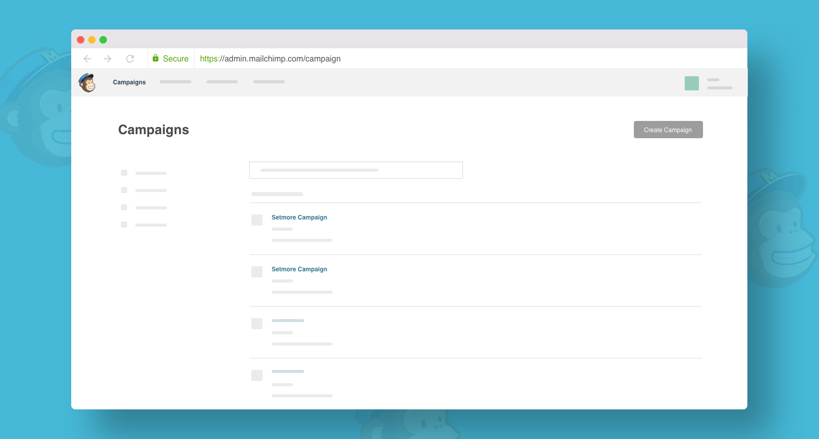 MailChimp Integration with Setmore