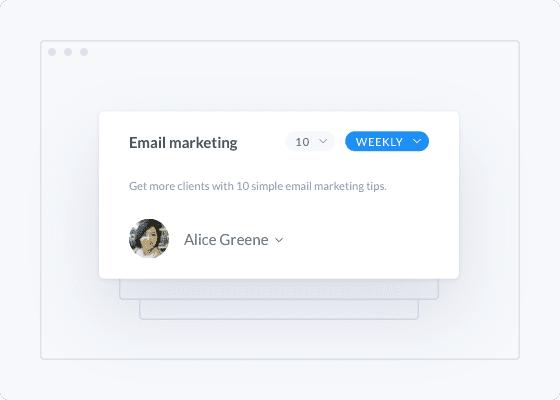 Notificación de marketing por correo electrónico