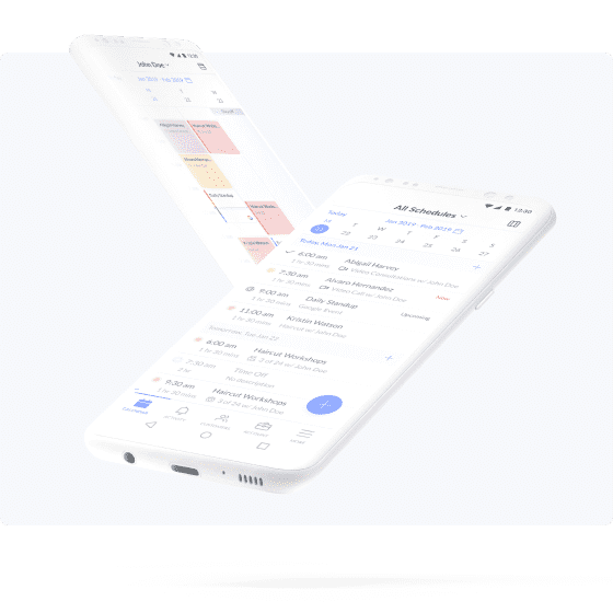 android appointment scheduling setmore app