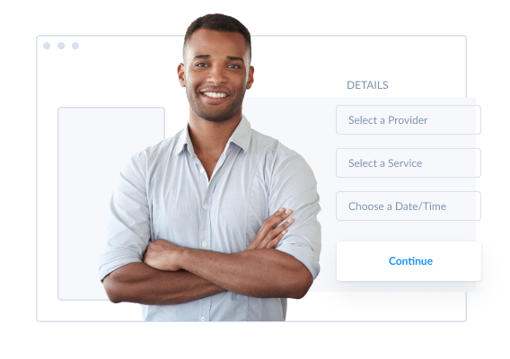 online web based setmore booking page