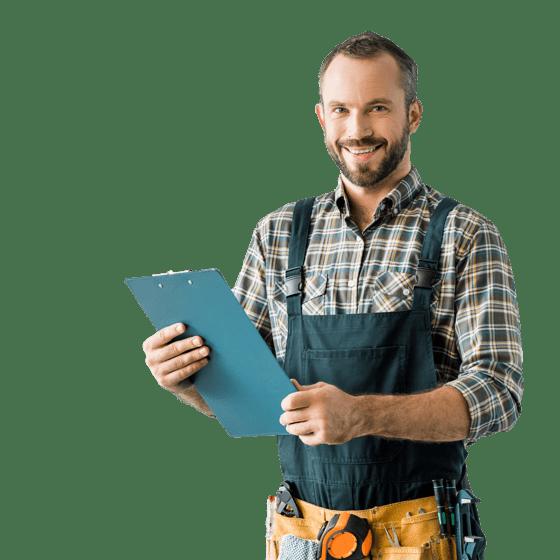 Un professionista delle riparazioni domestiche