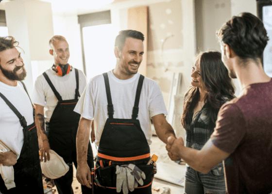 home repair professional team