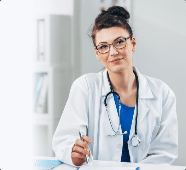 Secured online health software