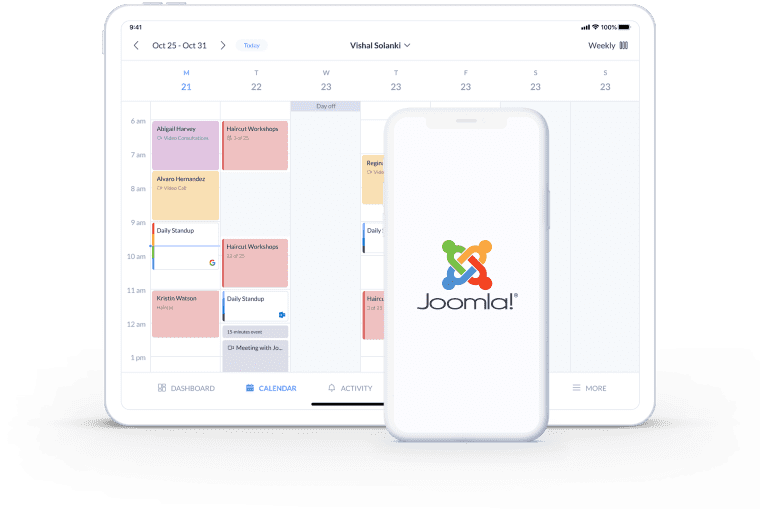 joomla appointment booking system