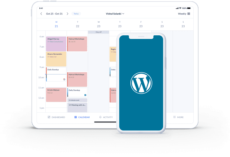 free wordpress scheduling plugin