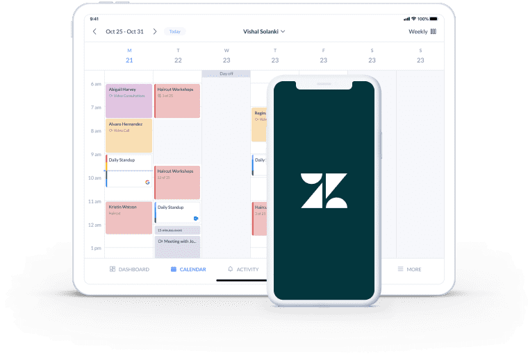 zendesk appointment booking app