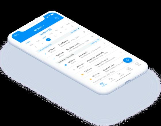 Setmore mobile application