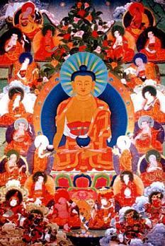 Thangkas/Buddha16Arhats.JPG