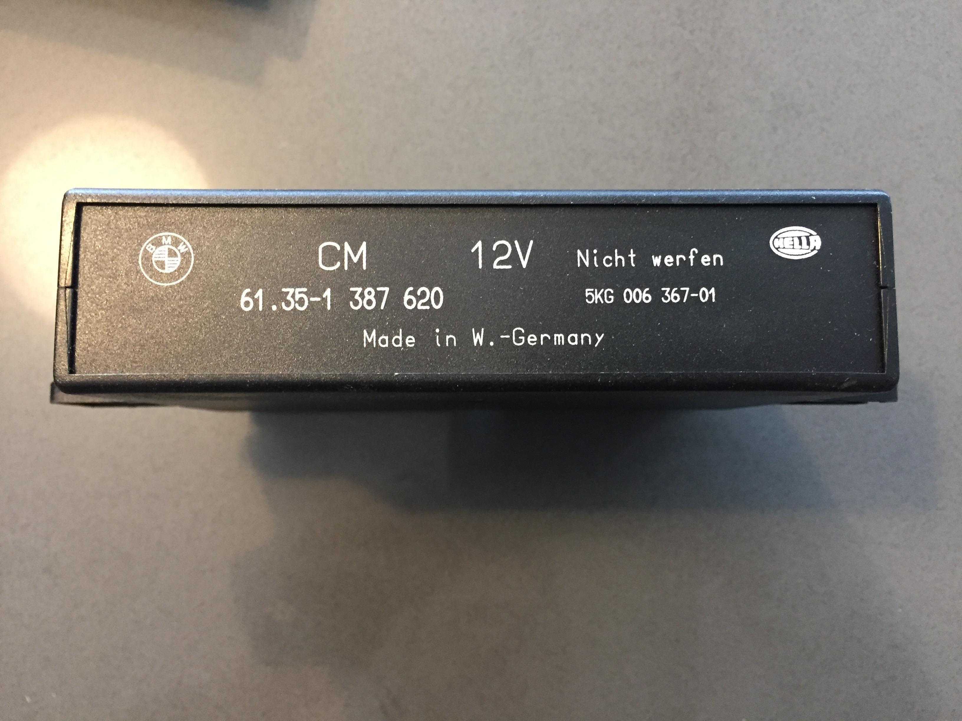 BMW E36 92 99 Check Control Module 6135 1 387 620