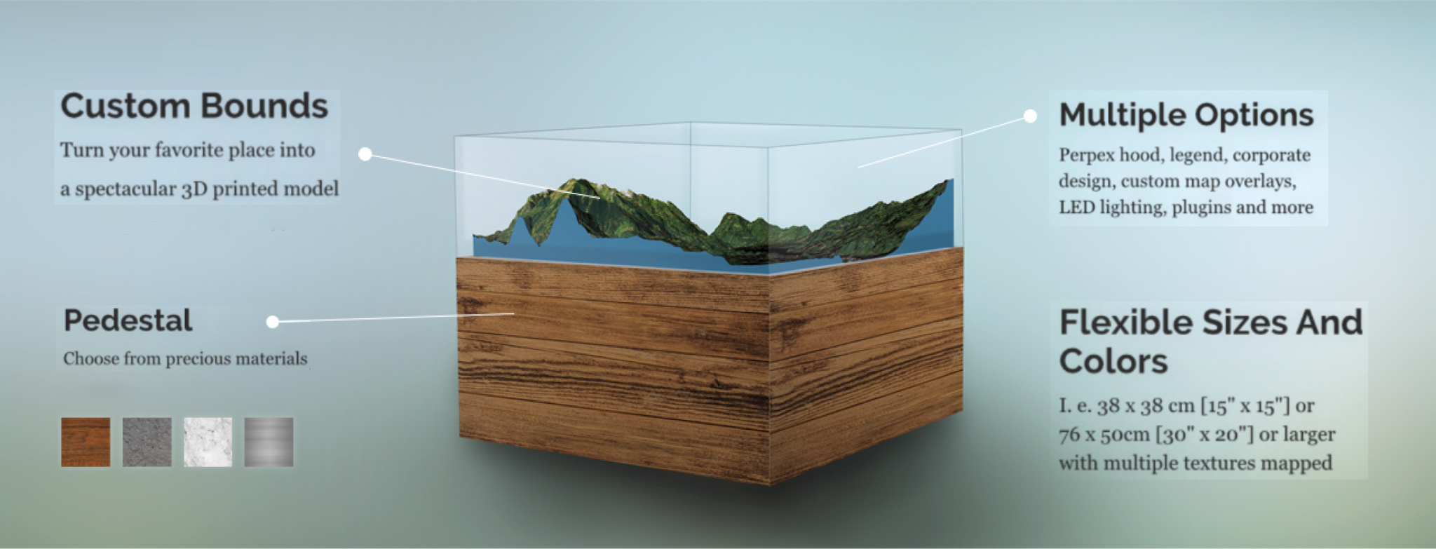 image regarding Free 3d Printable Terrain identify SHAPEwerk Custom made Terrain Maps 3D Released