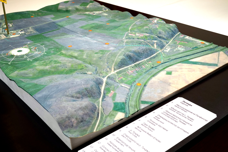 environmental sustainability 3d print map